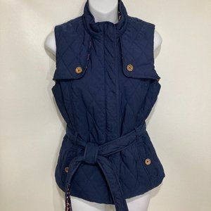 Lilly Pulitzer S Reversible Quilted Horsebit Vest